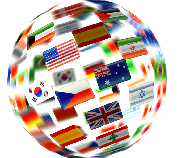 globe-with-flags-of-languages-of-the-world